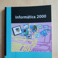 Libros de segunda mano: LIBRO DE TEXTO INFORMÁTICA 2000 + CD-ROM - JOSÉ MARÍA Y OSCAR ARIAS Y VVAA -EDIT. MAGISTERIO CASALS. Lote 205836376