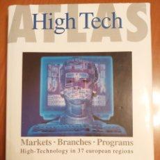 Libros de segunda mano: ATLAS HIGH TECH. LIBRO DE TECNOLOGÍA. EN INGLÉS. Lote 206261593