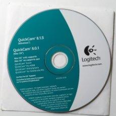 Libros de segunda mano: CD DE INSTALACION CON LOS DRIVERS PARA EL QUICKCAM DE LOGITECH PARA WINDOWS Y MAC - 2004. Lote 206424676