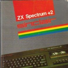 Libros de segunda mano: MANUAL DEL USUARIO - ZX SPECTRUM +2 - AMSTRAD 1987.. Lote 206435172
