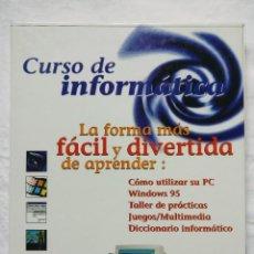 Libros de segunda mano: COLECCIONABLE CURSO DE INFORMATICA - EL PERIODICO COMPAQ - COMPLETO (21 CAPITULOS + 10 CDS). Lote 206467066