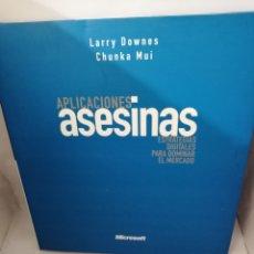 Libros de segunda mano: APLICACIONES ASESINAS: ESTRATEGIAS DIGITALES PARA DOMINAR EL MERCADO. Lote 207210153