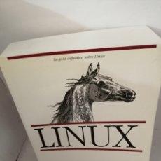 Livros em segunda mão: LINUX. LA GUÍA DEFINITIVA SOBRE LINUX. Lote 207263826