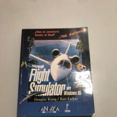Libros de segunda mano: MICROSOFT FLIGHT SIMULATOR. Lote 207532692