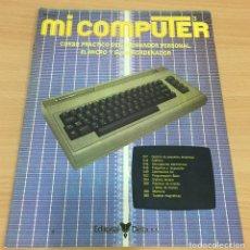 Livros em segunda mão: CURSO PRÁCTICO DEL ORDENADOR PERSONAL - MI COMPUTER Nº 3 ESPECIAL COMMODORE. DELTA, 1984. Lote 207757263