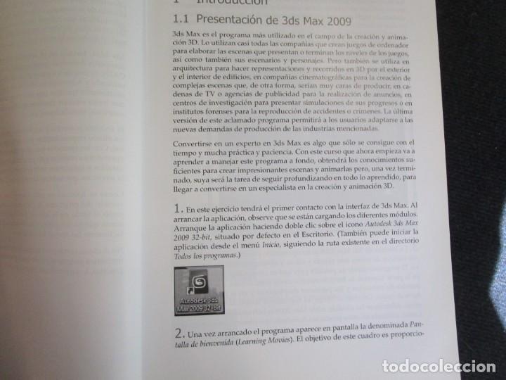 Libros de segunda mano: EL GRAN LIBRO DE 3D STUDIO MAX 2009 + CD ROM - MEDEIA ACTIVE 2009 MARCOMBO 812PAG 24CMM ILUSTRADO + - Foto 6 - 208867865