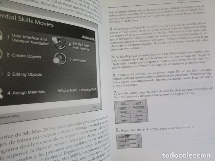 Libros de segunda mano: EL GRAN LIBRO DE 3D STUDIO MAX 2009 + CD ROM - MEDEIA ACTIVE 2009 MARCOMBO 812PAG 24CMM ILUSTRADO + - Foto 7 - 208867865