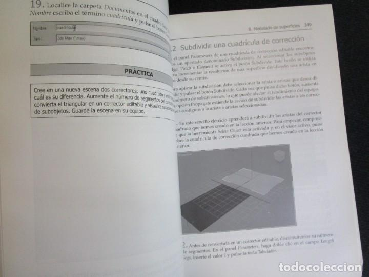 Libros de segunda mano: EL GRAN LIBRO DE 3D STUDIO MAX 2009 + CD ROM - MEDEIA ACTIVE 2009 MARCOMBO 812PAG 24CMM ILUSTRADO + - Foto 8 - 208867865