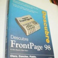 Libros de segunda mano: DESCUBRE FROM PAGE 98. S. BANICK Y R. SUTTER. PRENTICE HALL 1998 332 PÁG (BUEN ESTADO). Lote 209795400
