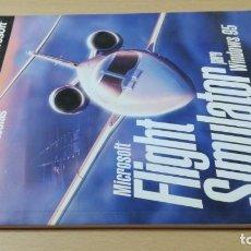 Libros de segunda mano: MIRCROSOFT RESUMEN DE TECLAS FLIGHT SIMULATOR WINDONS 95 ESQ107. Lote 209798765