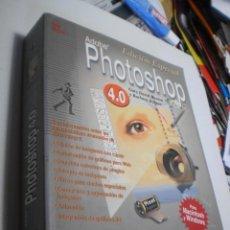 Libros de segunda mano: ADOBE PHOTOSHOP 4.0 PARA MACINTOSH Y WINDOWS. CON DISCO. VV. AA. 660 PÁG (BUEN ESTADO). Lote 210063212