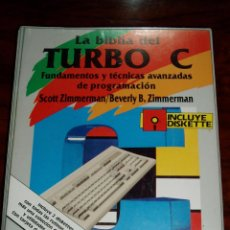 Libros de segunda mano: LIBRO LA BIBLIA DEL TURBO C - ANAYA. Lote 210145930