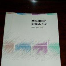 Libros de segunda mano: LIBRO MS DOS SHELL 1.0 PHILIPS GUIA DE USUARIO. Lote 210146786