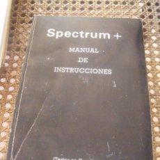 Livros em segunda mão: SPECTRUM + MANUAL DE INSTRUCCIONES. Lote 210403743