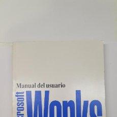 Libros de segunda mano: MANUAL DEL USUARIO MICROSOFT WORKS. Lote 210796681