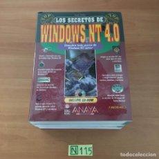 Libros de segunda mano: WINDOWS NT 4.0. Lote 210803546