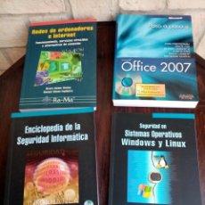 Libros de segunda mano: LOTE INTERESANTE DE LIBROS DE INFORMÁTICA. Lote 211429820