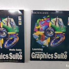 Libros de segunda mano: LIBROS MICROGRAFX GRAPHICS SUITE (INGLÉS). Lote 211433160