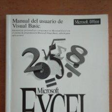 Libros de segunda mano: MANUAL DEL USUARIO DE VISUAL BASIC. MICROSOFT EXCEL. VERSION 5.0.. Lote 211456067