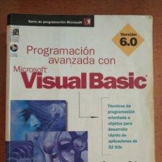 Libros de segunda mano: PROGRAMACION AVANZADA CON MICROSOFT VISUAL BASIC VERSION 6.0. Lote 211456954