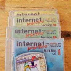 Libros de segunda mano: CURSO PRÁCTICO INTERNET 4 CDS. Lote 211459454