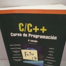 Libros de segunda mano: C/C++ CURSO DE PROGRAMACIÓN 3A EDICIÓN (INCLUYE CD-ROM). Lote 211455834