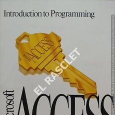 Libros de segunda mano: INTRODUCTION TO PROGRAMMING MICROSOFT ACCESS. Lote 211694895