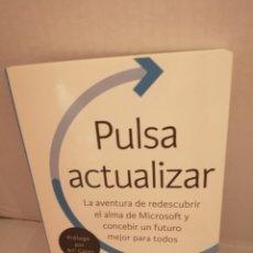 Libros de segunda mano: PULSA ACTUALIZAR DE SATYA NADELLA. Lote 211876565