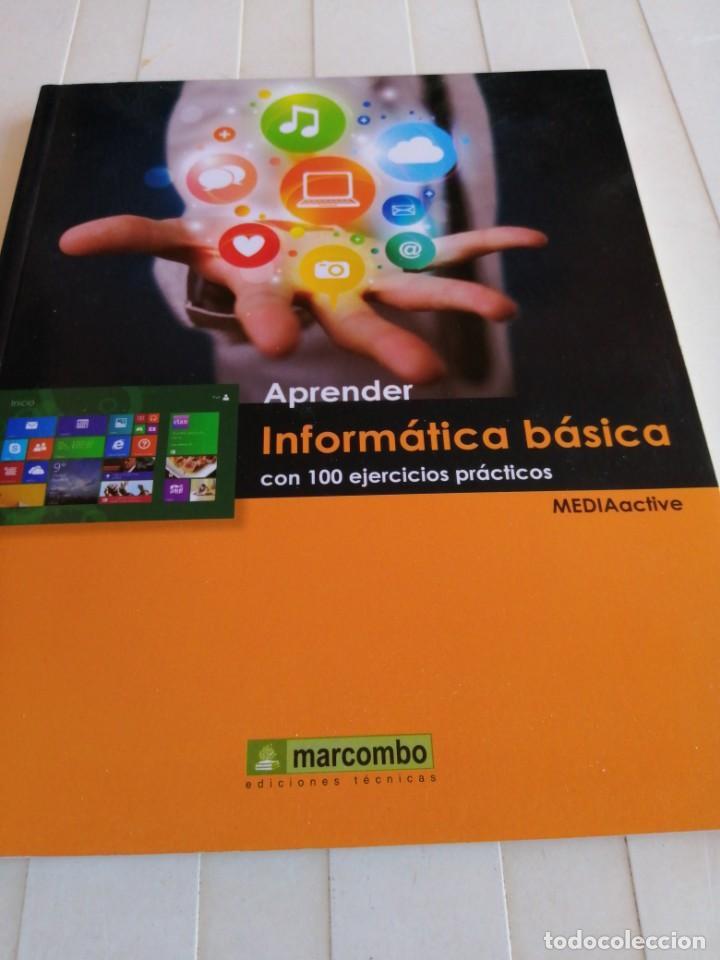 APRENDER INFORMÁTICA BÁSICA /EDITORIAL MARCOMBO AÑO2014 (Libros de Segunda Mano - Informática)
