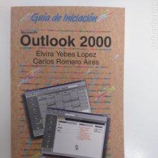Libros de segunda mano: GUÍA DE INICIACIÓN OUTLOOK 2000. ANAYA MULTIMEDIA 2004. Lote 213826435