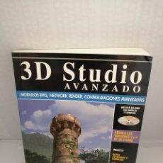 Libros de segunda mano: 3D STUDIO AVANZADO (INCLUYE CD-ROM CON MODELOS Y EJEMPLOS). Lote 213872661