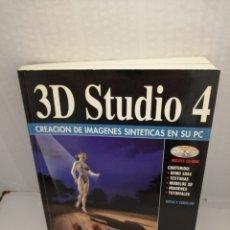 Libros de segunda mano: 3D STUDIO 4: CREACIÓN DE IMÁGENES SINTÉTICAS EN SU PC (INCLUYE CD-ROM). Lote 213872703