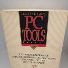 Libri di seconda mano: CENTRAL POINT. PC TOOLS DELUXE VERSION 6 (ESTUCHE CON 3 LIBROS + 9 DISQUETTES). Lote 215872938