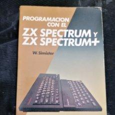 Libros de segunda mano: SPECTRUM ZX 48K LIBRO PROGRAMACIÓN BÀSIC. Lote 217813888