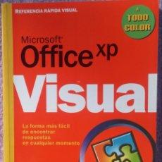 Libros de segunda mano: MICROSOFT OFFICE XP REFERENCIA RÁPIDA VISUAL – CAROL BROWN (MC GRAW HILL, 2002) /// OFIMÁTICA WORD. Lote 218120063