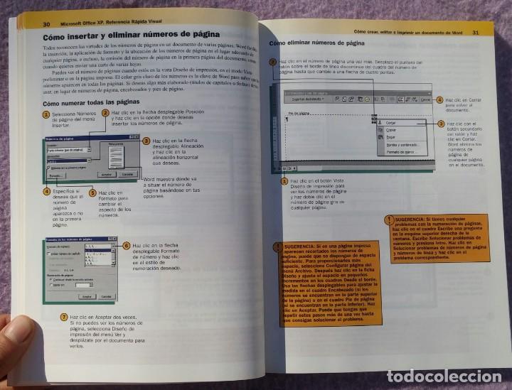 Libros de segunda mano: Microsoft Office XP Referencia Rápida Visual – Carol Brown (Mc Graw Hill, 2002) /// OFIMÁTICA WORD - Foto 10 - 218120063