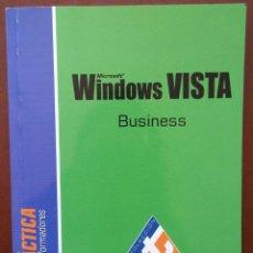 Libros de segunda mano: WINDOWS VISTA BUSINESS, GUÍA PRÁCTICA (ENI, 2007) /// MICROSOFT INFORMÁTICA INTERNET WORD ONLINE. Lote 218121461