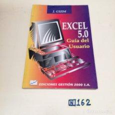 Libros de segunda mano: EXCEL 0.5 GUÍA DEL USUARIO. Lote 218495306