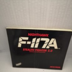 Libros de segunda mano: F-117A. NIGHTHAWK STEALTH FIGHTER 2.0: MANUAL DE INSTRUCCIONES (ESPAÑOL). Lote 218594677