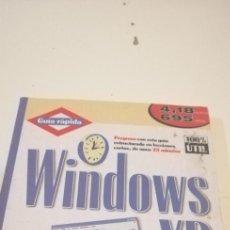 Libros de segunda mano: C-5 LIBRO WINDOWS XP FACIL GUIA RAPIDA. Lote 218739673