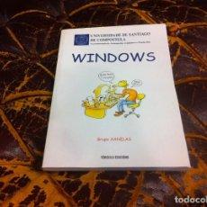 Libros de segunda mano: WINDOWS. GRUPO XANELAS. UNIVERSIDAD DE SANTIAGO DE COMPOSTELA. 1999, TÓRCULO EDICIÓNS. Lote 218923045
