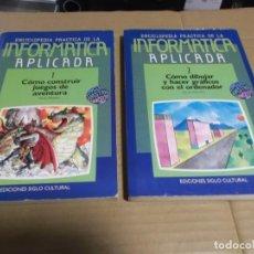Libros de segunda mano: ENCICLOPEDIA PRACTICA DE LA INFORMATICA APLICADA 1 Y 2. Lote 219101818