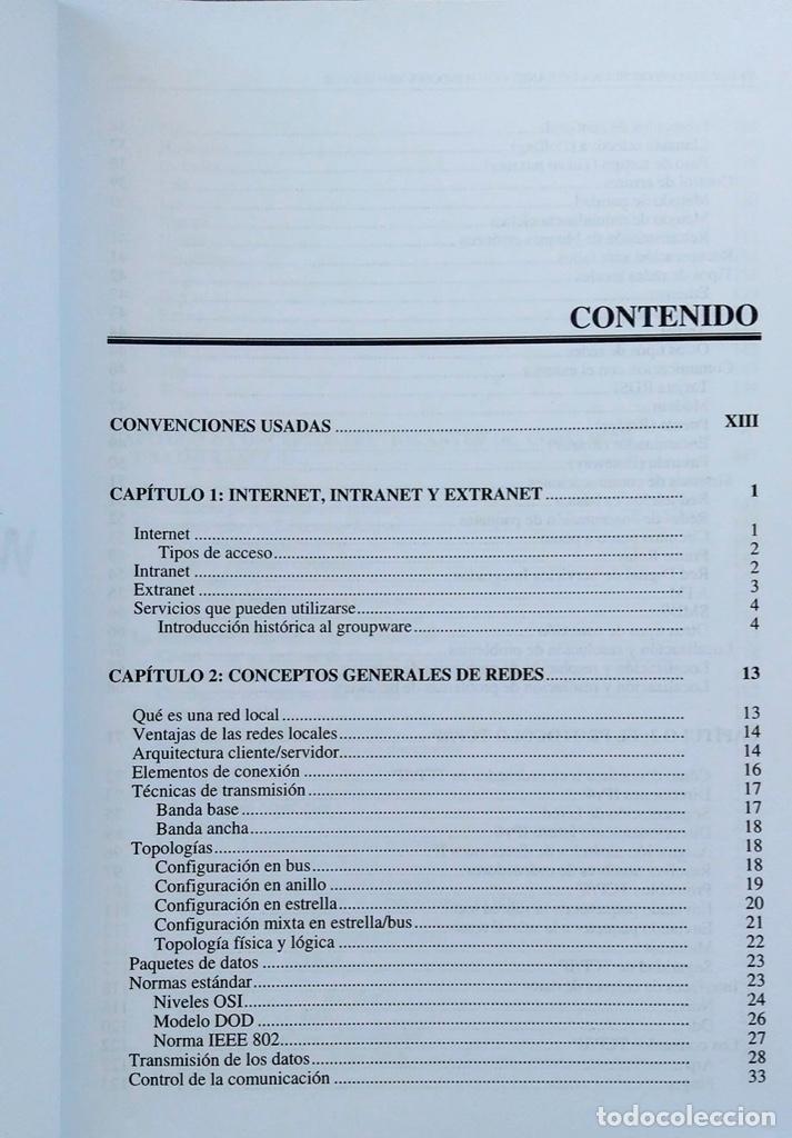Libros de segunda mano: CÓMO CONSTRUIR UNA INTRANET CON WINDOWS SERVER 2000. José Luís RAYA, LAURA RAYA. RA-MA. - Foto 5 - 219609555