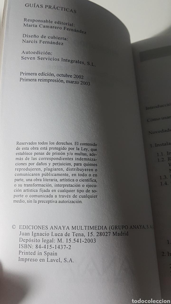 Libros de segunda mano: Photoshop 7 Adobe - Anaya multimedia - Guía práctica para usuarios - Nicolás Sánchez Biezma L Monje - Foto 2 - 220250962