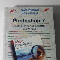Libros de segunda mano: PHOTOSHOP 7 ADOBE - ANAYA MULTIMEDIA - GUÍA PRÁCTICA PARA USUARIOS - NICOLÁS SÁNCHEZ BIEZMA L MONJE. Lote 220250962
