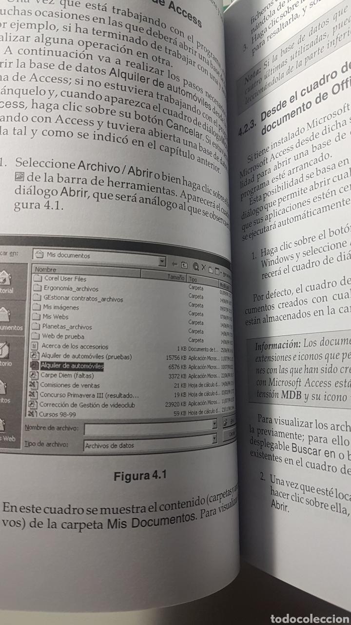 Libros de segunda mano: Access 2000 Microsoft Anaya multimedia Guía práctica para usuarios - Ma Piedad Ferro Sánchez - Foto 3 - 220251618