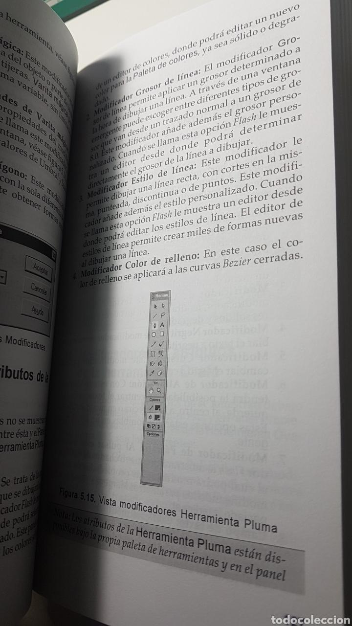 Libros de segunda mano: Flash MX Macromedia - Guía práctica para usuarios - Anaya multimedia - Claudio Hernández - Foto 3 - 220253058