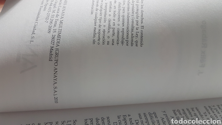 Libros de segunda mano: Redes locales edición 2010 - Guía práctica Anaya multimedia - J Félix Rábago - Foto 2 - 220253462
