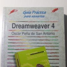 Libros de segunda mano: DREAMWEAVER 4 - ANAYA MULTIMEDIA GUÍA PRÁCTICA PARA USUARIOS - ÓSCAR PEÑA DE SAN ANTONIO. Lote 220253876