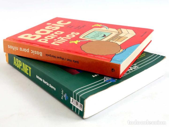 Libros de segunda mano: LOTE 2 LIBROS DE INFORMÁTICA. ASP.NET 2.0 Y BASIC PARA NIÑOS - Foto 2 - 221157545